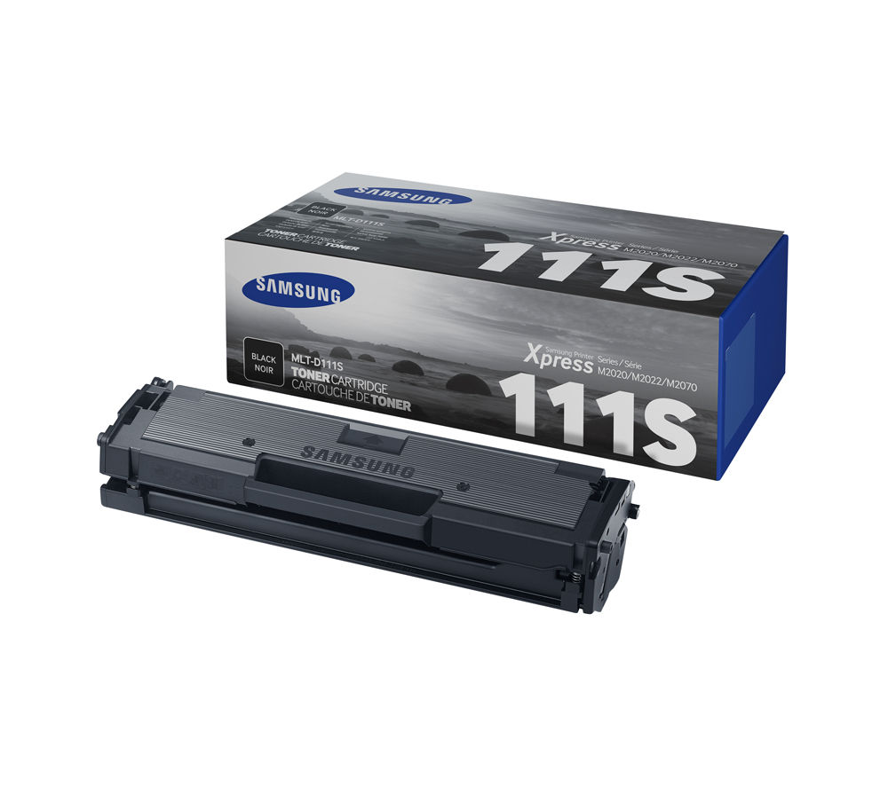 SAMSUNG MLT-D111S Black Toner Cartridge and Drum