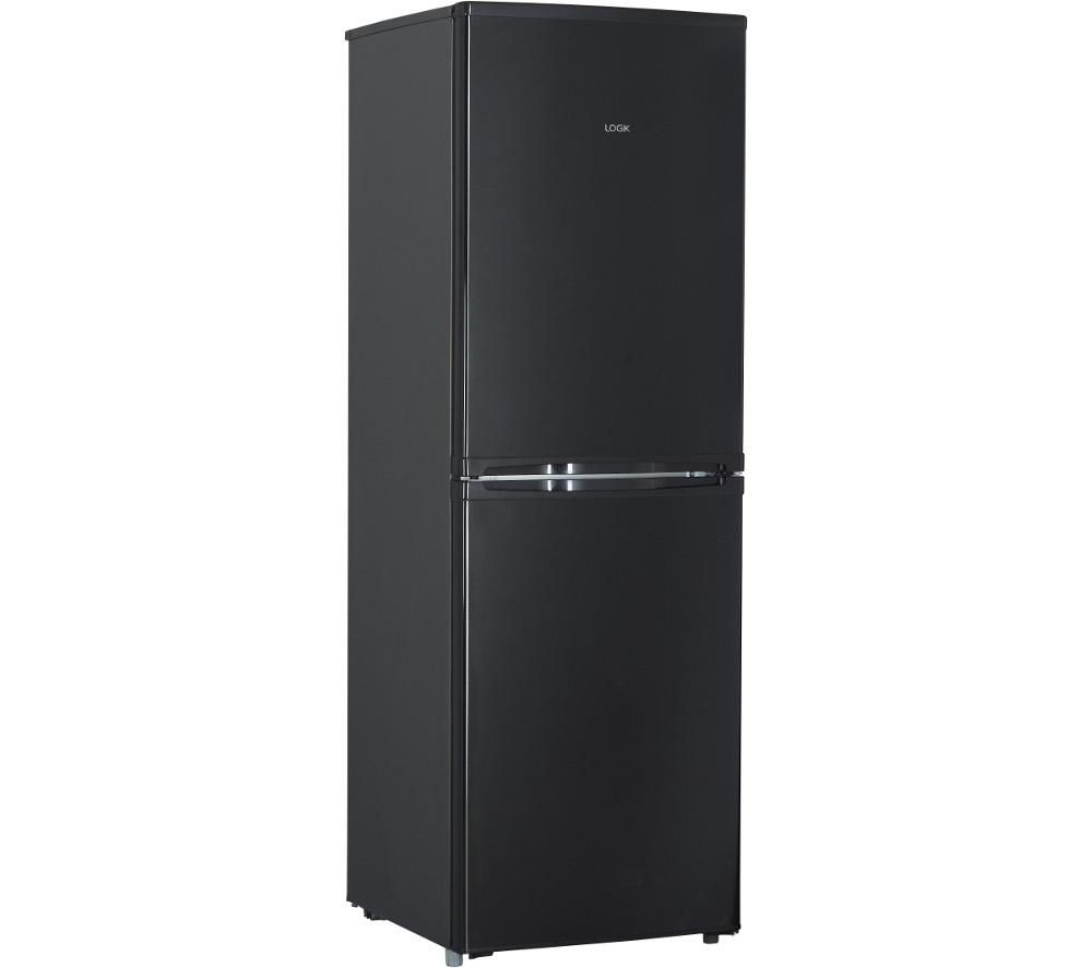 buy logik lfc50b14 50 50 fridge freezer black free. Black Bedroom Furniture Sets. Home Design Ideas