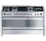 SMEG Opera 150 Dual Fuel Range Cooker - Stainless Steel