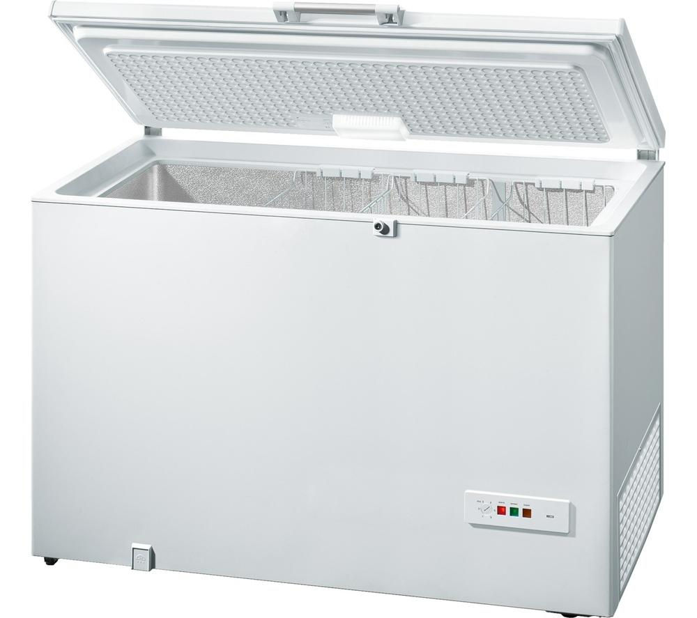 BOSCH GCM34AW20G Chest Freezer - White