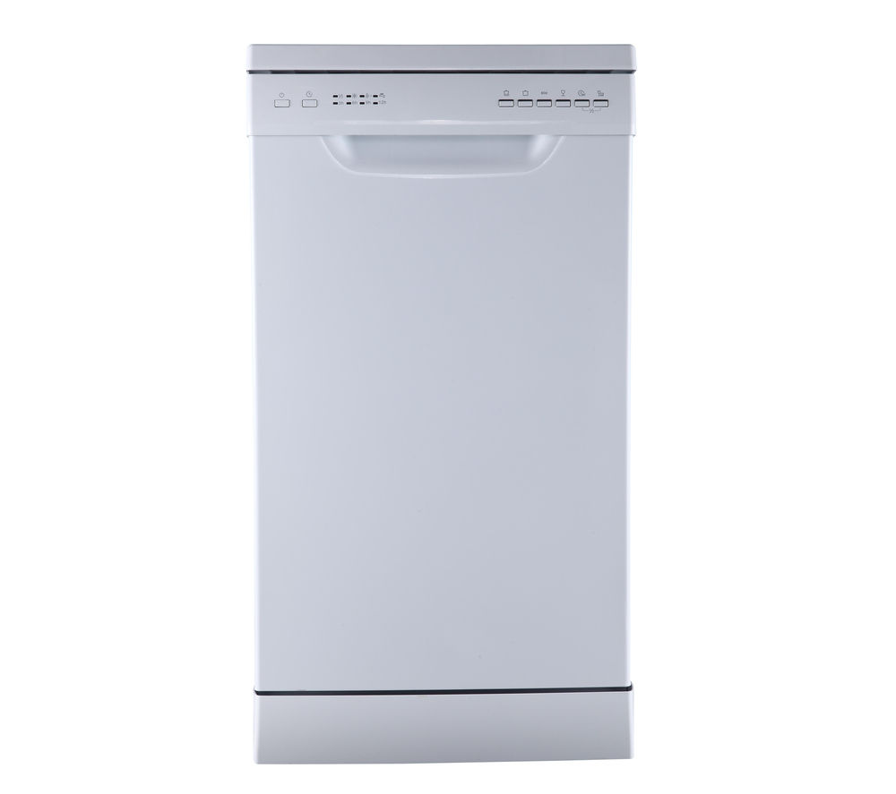 ESSENTIALS CDW45W16 Slimline Dishwasher - White