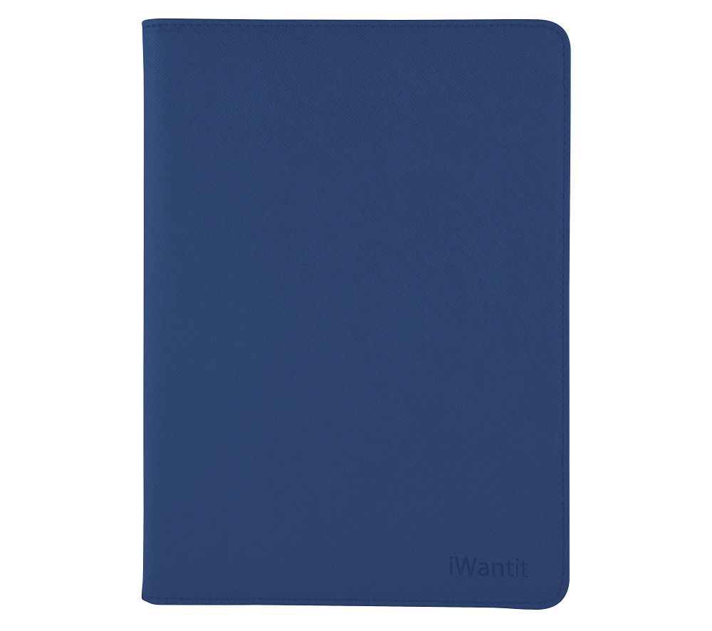 "IWANTIT 7.9"" iPad Mini 4 Folio Case - Blue"