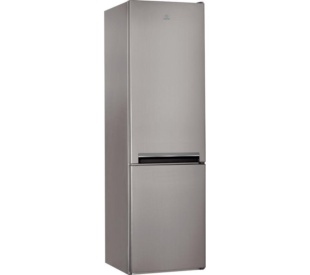 INDESIT LD70S1X 60/40 Fridge Freezer - Stainless Steel