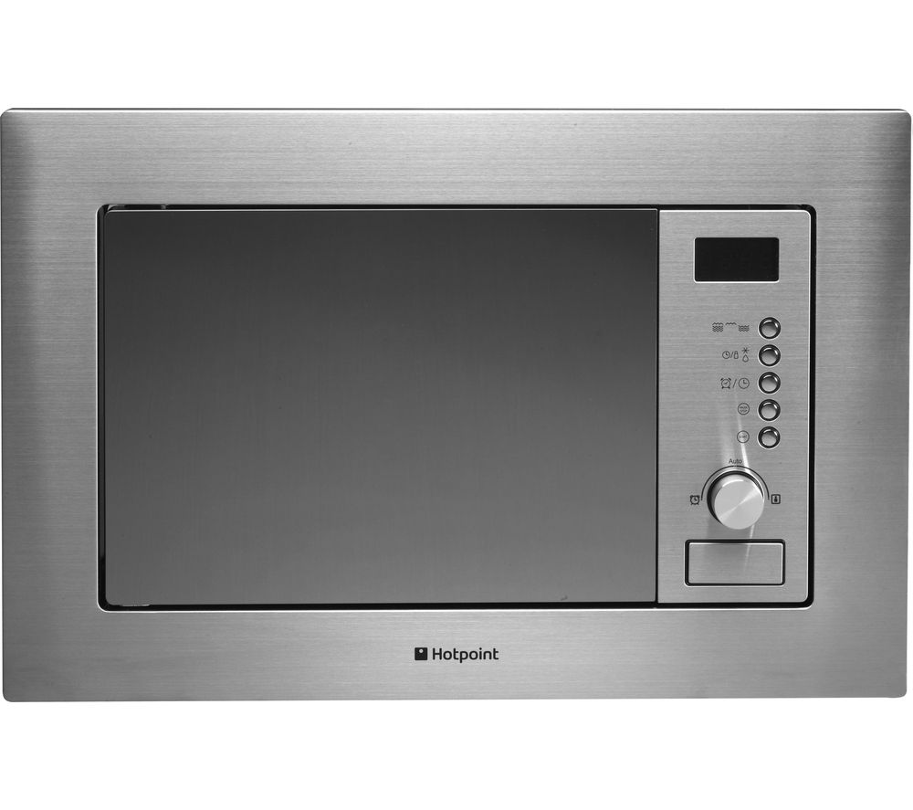 HOTPOINT MWH 122.1 X Built-in Microwave with Grill - Stainless Steel