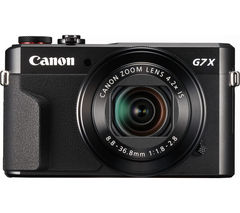 PowerShot G7X Mark II High Performance Compact Camera - Black