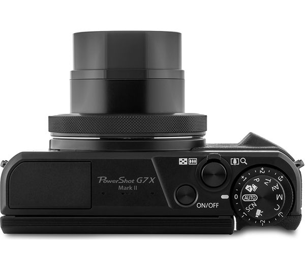 437fc92c975c CANON PowerShot G7 X Mark II High Performance Compact Camera - Black