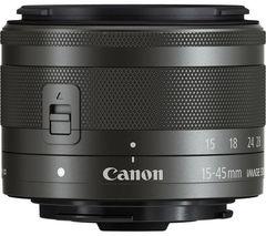 CANON EF-M 15-45 mm f/3.5-6.3 IS STM Standard Zoom Lens
