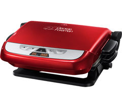 GEORGE FOREMAN Evolve Health Grill - Red