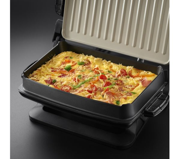 Buy george foreman evolve health grill red free delivery currys - Health grill with removable plates ...