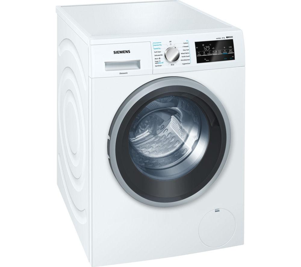 SIEMENS WD15G421GB Washer Dryer - White