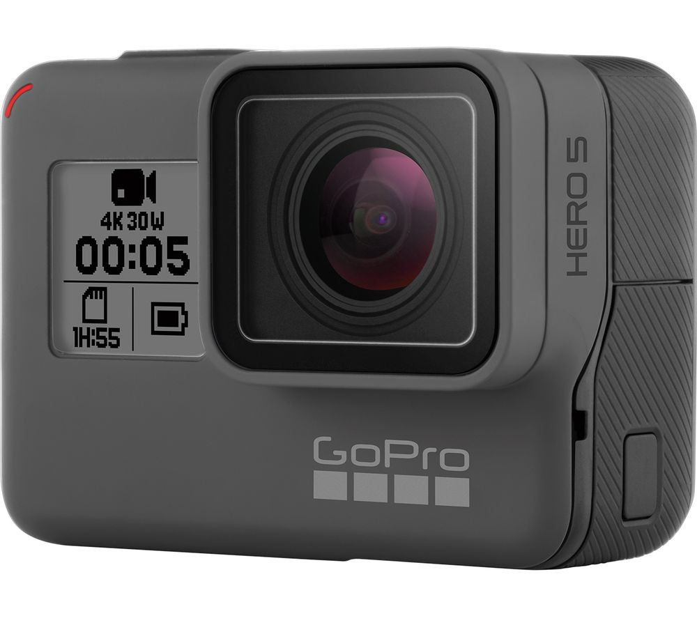 GOPRO HERO5 4K Ultra HD Action Camcorder - Black + Ultra Performance Class 10 microSD Memory Card - 32 GB
