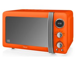 SWAN Retro SM22030ON Solo Microwave - Orange Best Price, Cheapest Prices