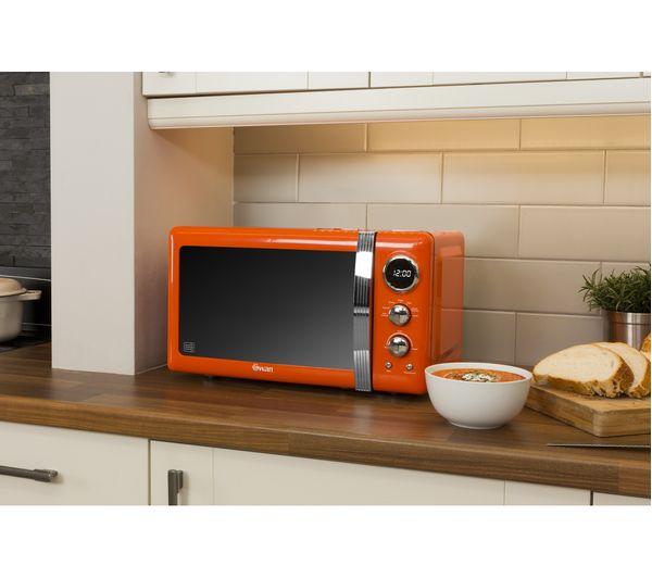 Buy SWAN Retro SM22030ON Solo Microwave - Orange