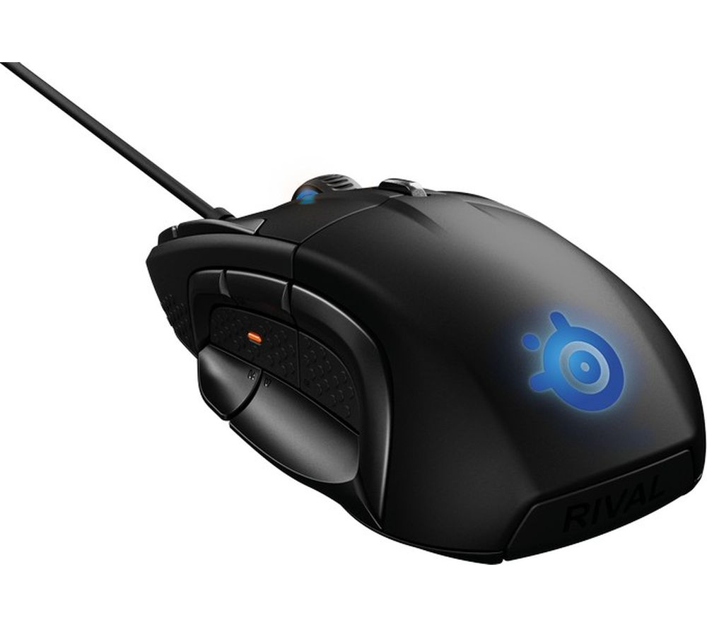 STEELSERIES Rival 500 Optical Gaming Mouse - Black