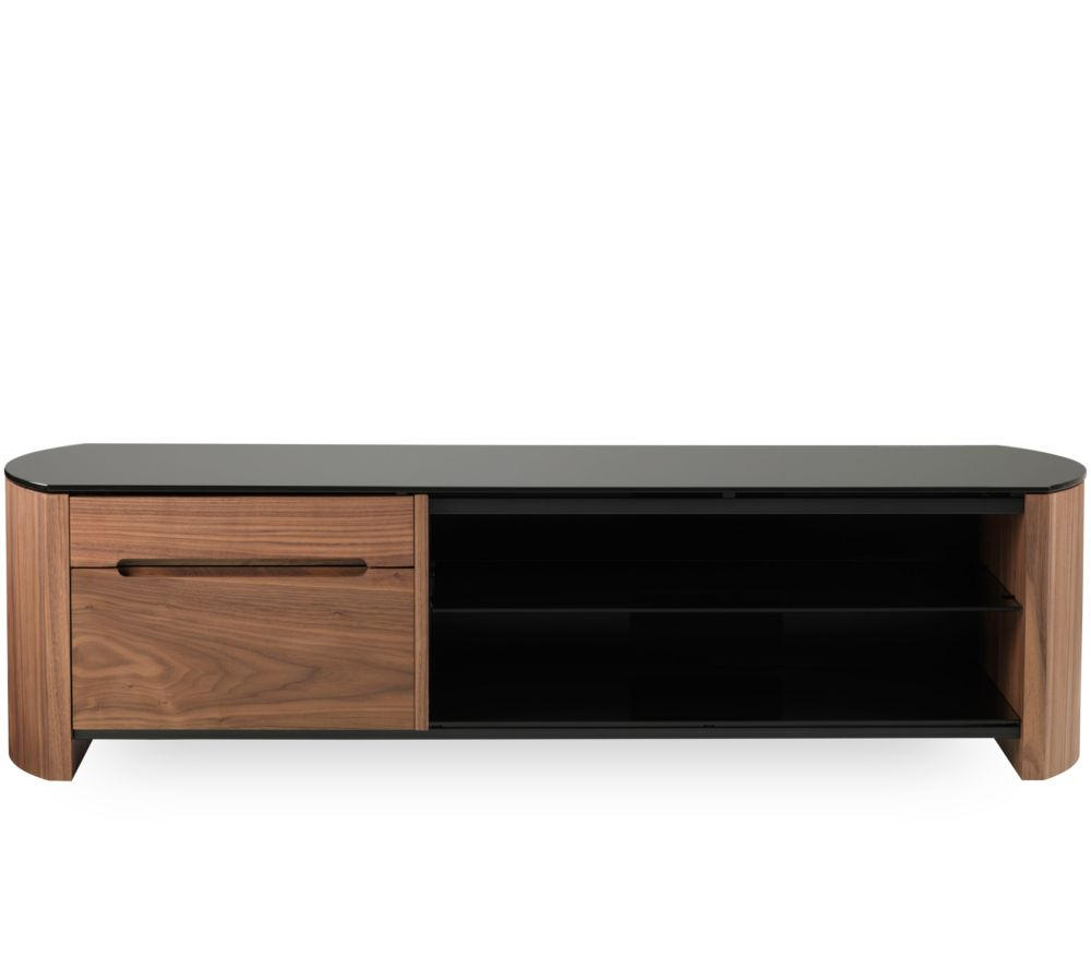 ALPHASON Finewoods Cabinet 1350 TV Stand - Walnut