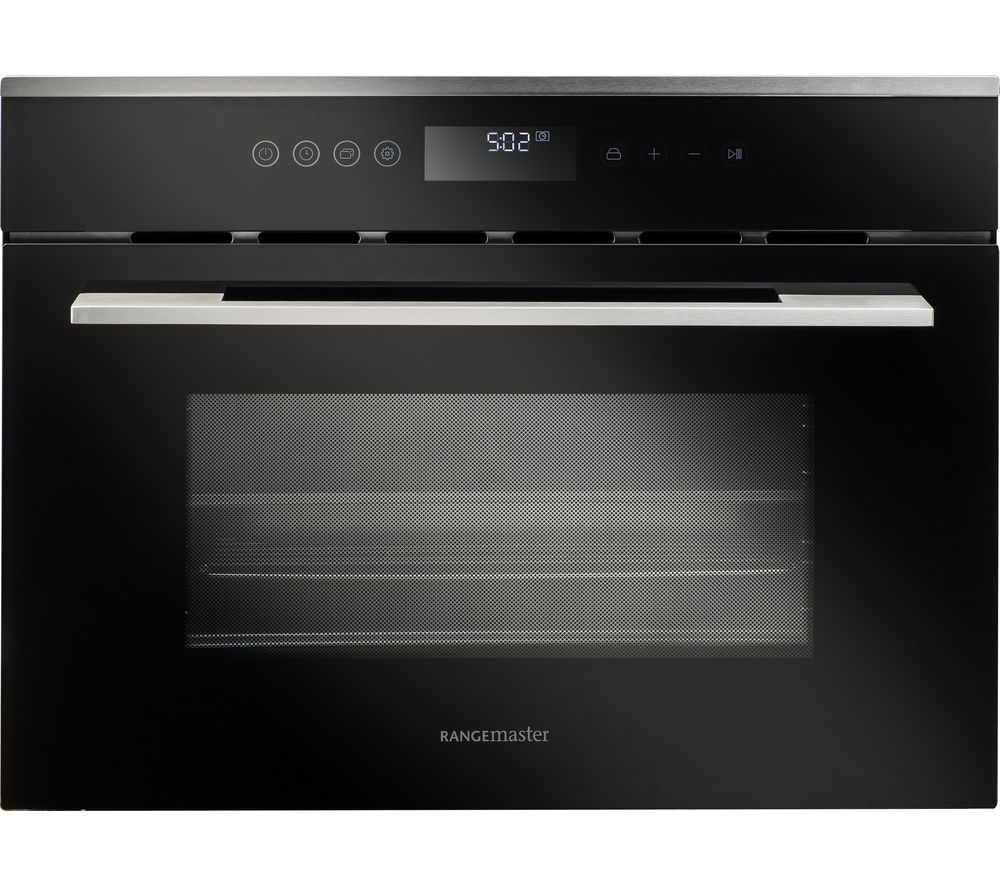 RANGEMASTER RMB45SCBL/SS Electric Steam Oven - Black & Stainless Steel