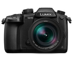 PANASONIC Lumix DC-GH5 Mirrorless Camera with Leica 12-60 mm f/2.8 Lens