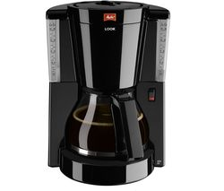 MELITTA Look IV Filter Coffee Machine - Black