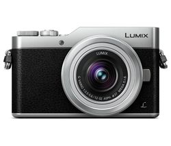 PANASONIC LUMIX DC-GX800 Mirrorless Camera with 12-32 mm f/3.5-5.6 Lens - Silver