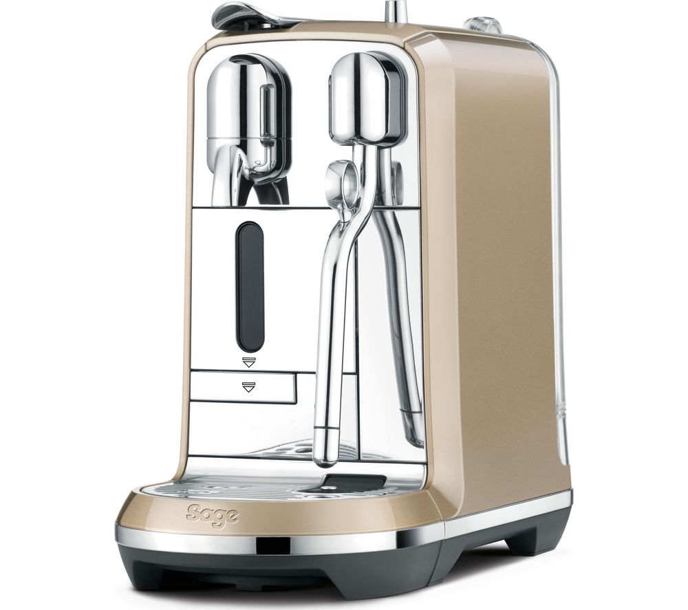 NESPRESSO by Sage Creatista BNE600RCH Coffee Machine - Royal Champagne