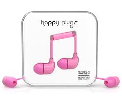 HAPPY PLUGS HP7717 Headphones - Pink