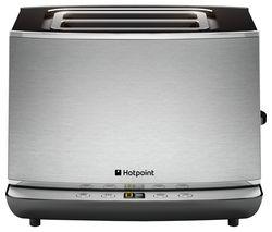 HOTPOINT TT 22E AX0 2-Slice Toaster - Silver