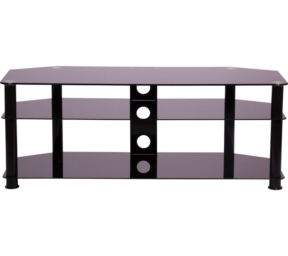 MMT Rome P5BLK1250 TV Stand - Black