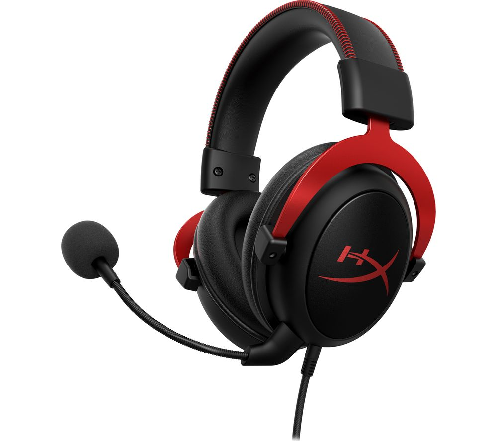 HYPERX Cloud II Pro 7.1 Gaming Headset - Black & Red