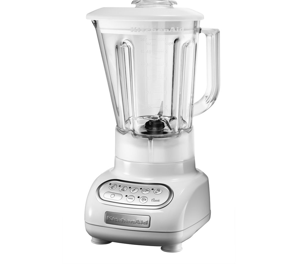 buy kitchenaid artisan 5ksb5553bwh blender white free delivery currys. Black Bedroom Furniture Sets. Home Design Ideas