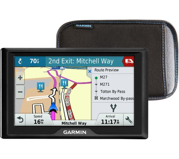 "Image of GARMIN Garmin Drive 51LMT-S UK 5"" Sat Nav - UK & ROI Maps & Case"