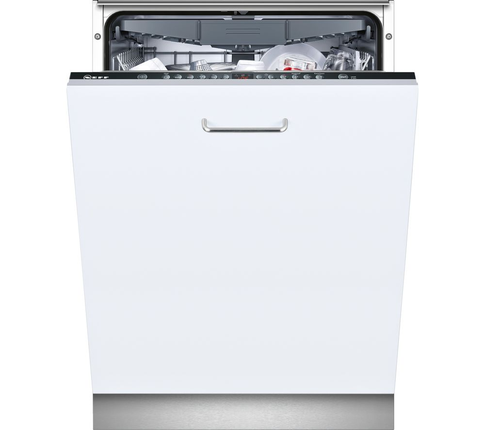 NEFF S723M60X0G Full-size Integrated Dishwasher - Stainless Steel
