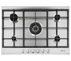 SMEG Cucina P272XGH Gas Hob - Stainless Steel