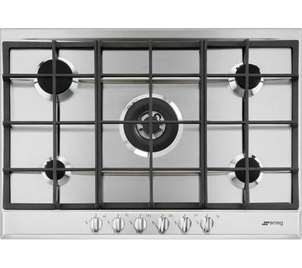 Buy SMEG Cucina P272XGH Gas Hob - Stainless Steel | Free Delivery ...