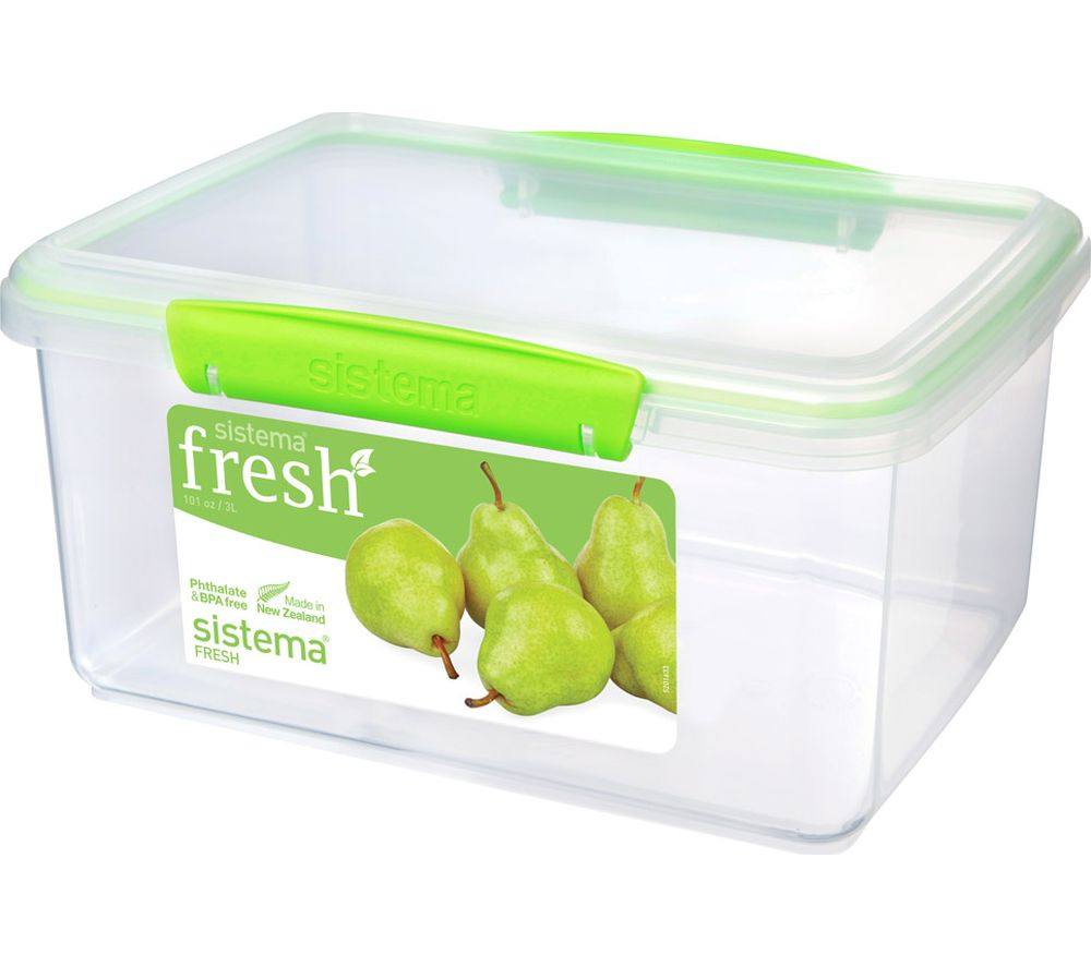 Compare prices for Sistema Fresh Rectangular 3 litre Container
