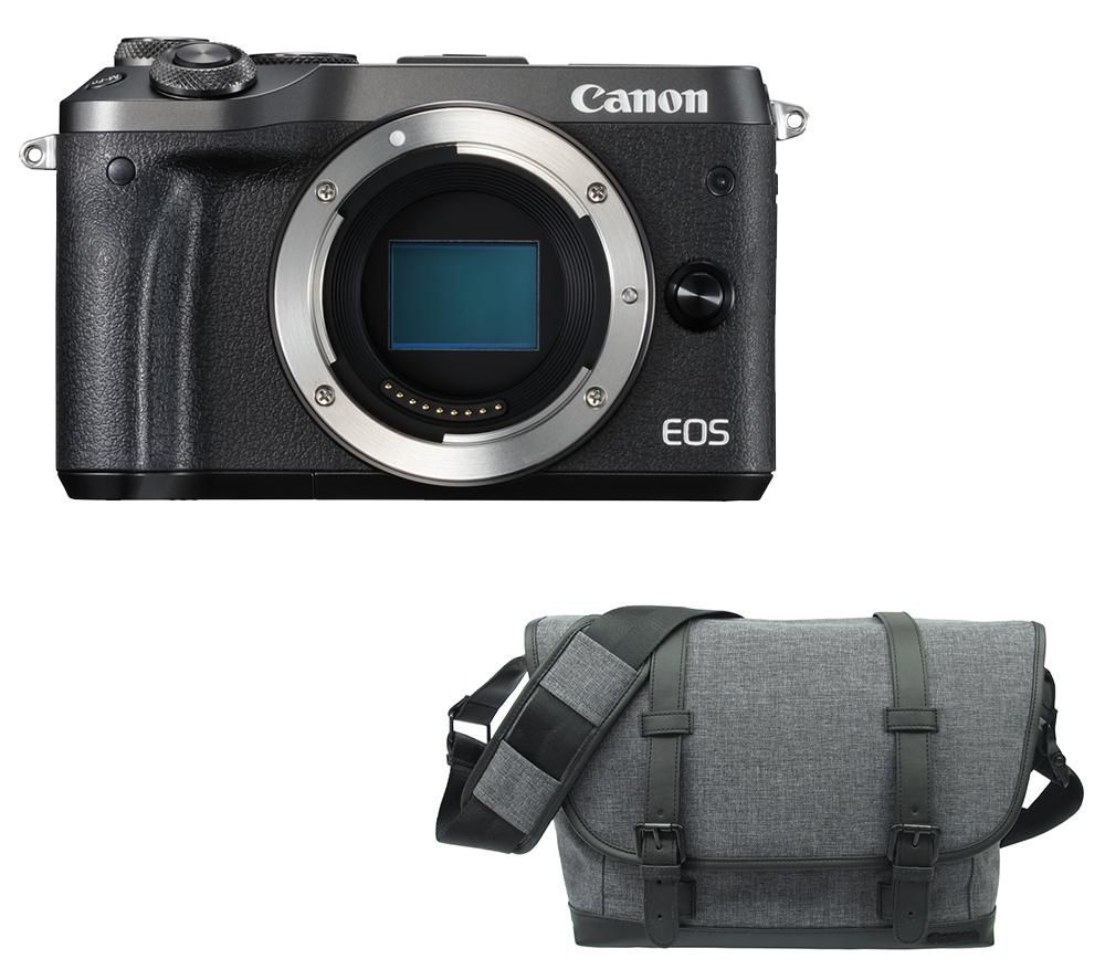 CANON EOS M6 Mirrorless Camera & Bag Bundle