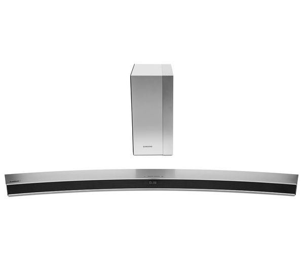 samsung hw m4501 2 1 wireless curved sound bar deals pc world. Black Bedroom Furniture Sets. Home Design Ideas