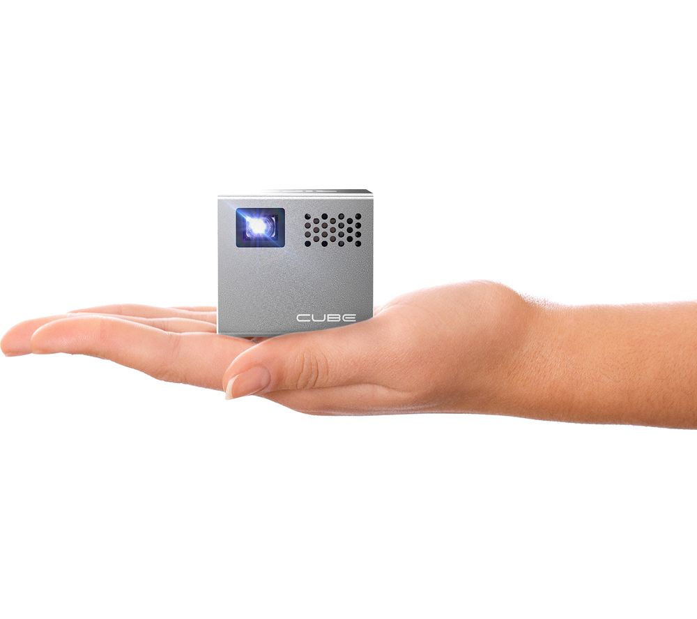 Buy rif6 cube mini projector free delivery currys for A small projector