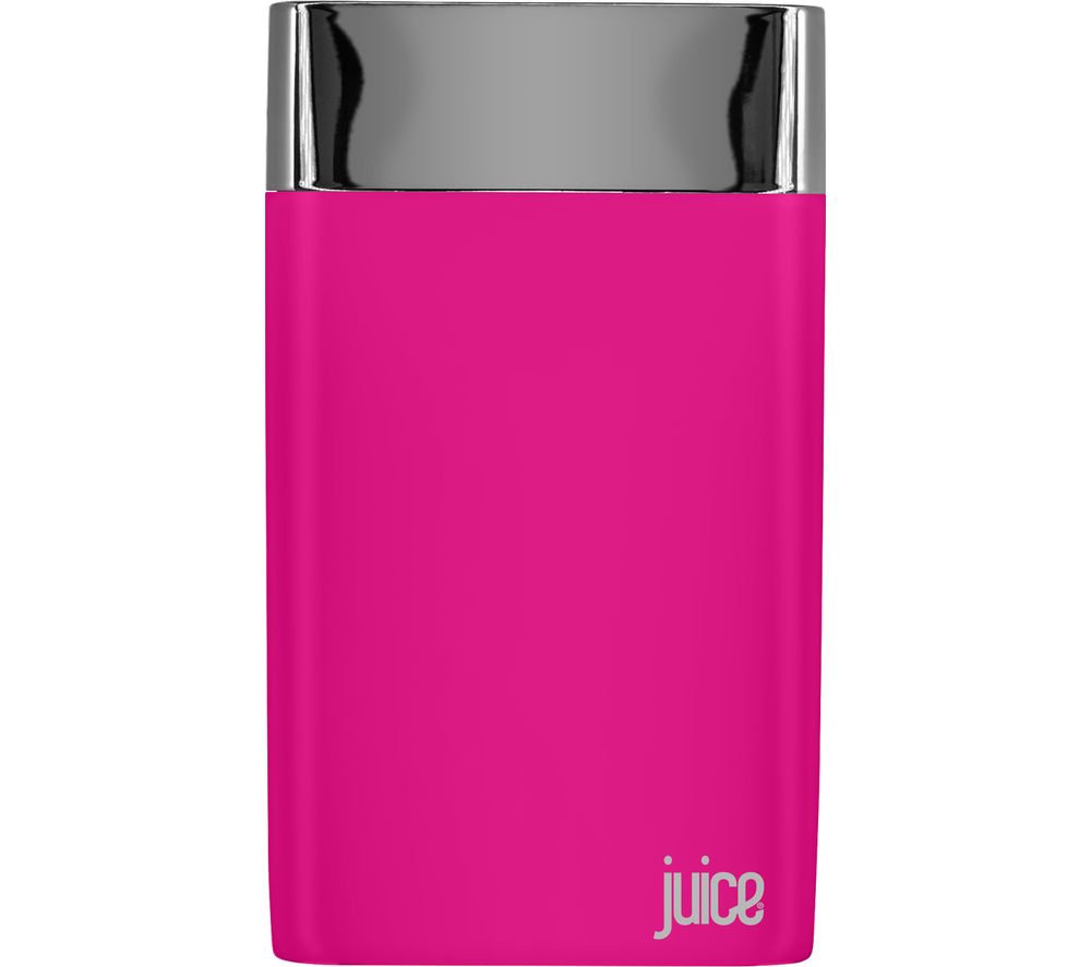 JUICE Long Weekender Portable Power Bank - Pink