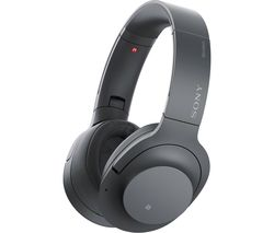 SONY WH-H900N Wireless Bluetooth Noise-Cancelling Headphones - Black