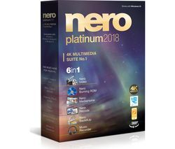 Nero Platinum 2018 - Lifetime for 1 device