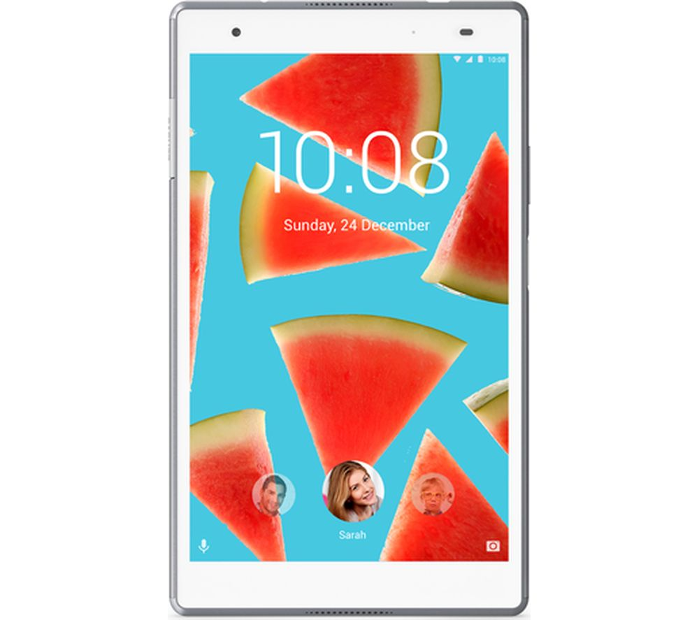 Image of LENOVO Tab4 8 Plus Tablet - 16GB, White, White