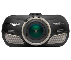 CO-PILOT CPDVR4GPS Super HD Dash Cam - Black