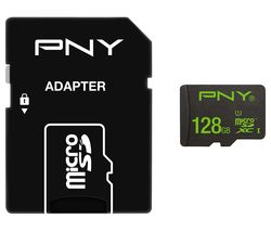 PNY High Performance Class 10 microSD Memory Card - 128 GB