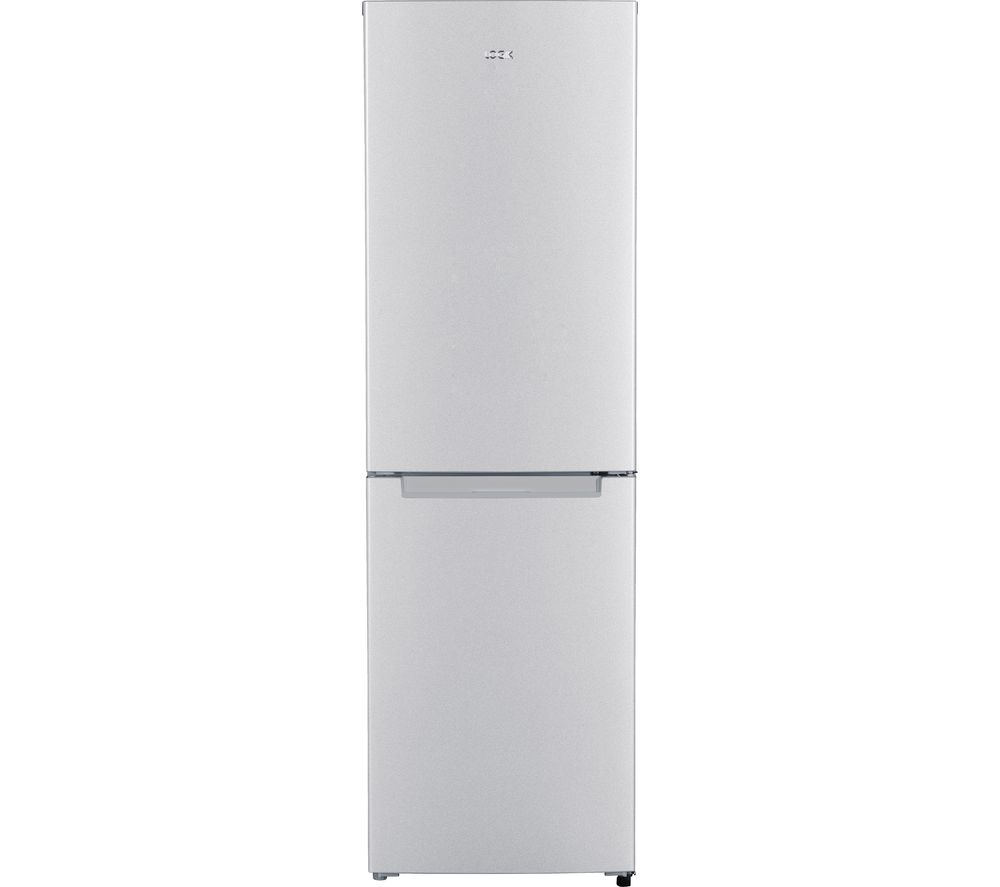 LOGIK LFF55S18 50/50 Fridge Freezer - Silver