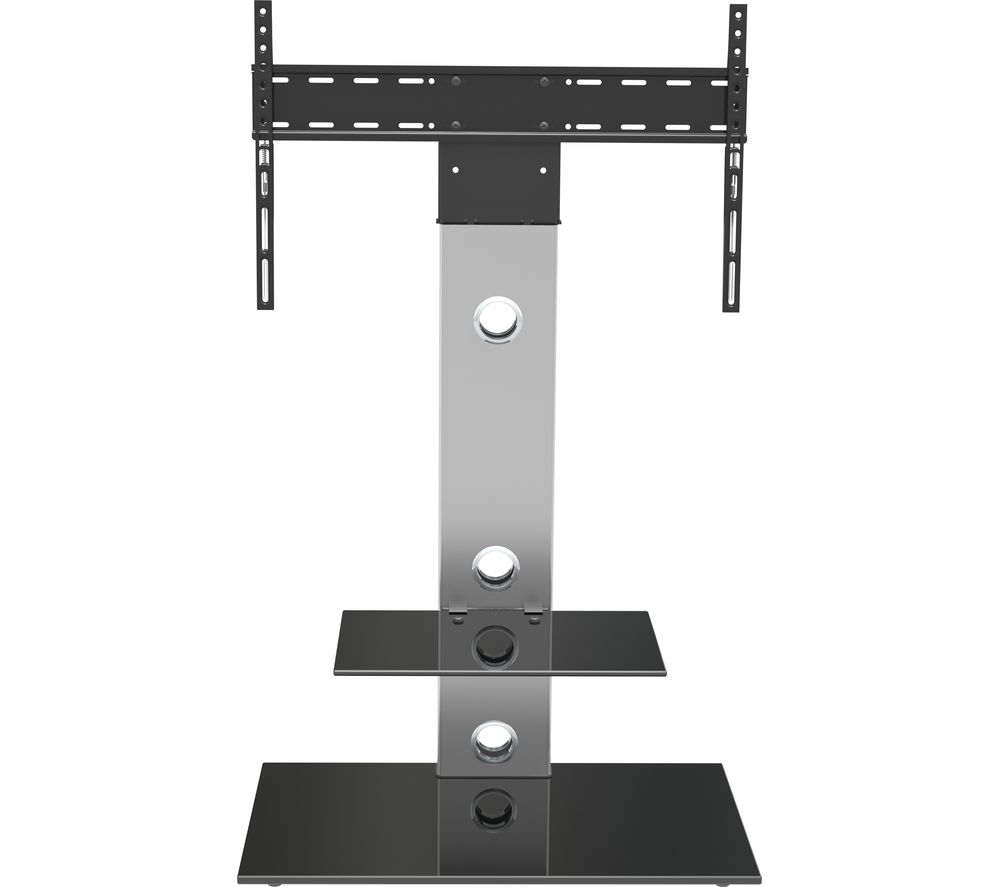 AVF Lesina FSL700LES TV Stand with Bracket - Silver & Black