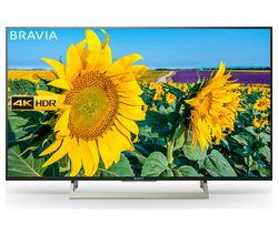 "SONY BRAVIA KD49XF8096BU 49"" Smart 4K Ultra HD HDR LED TV"