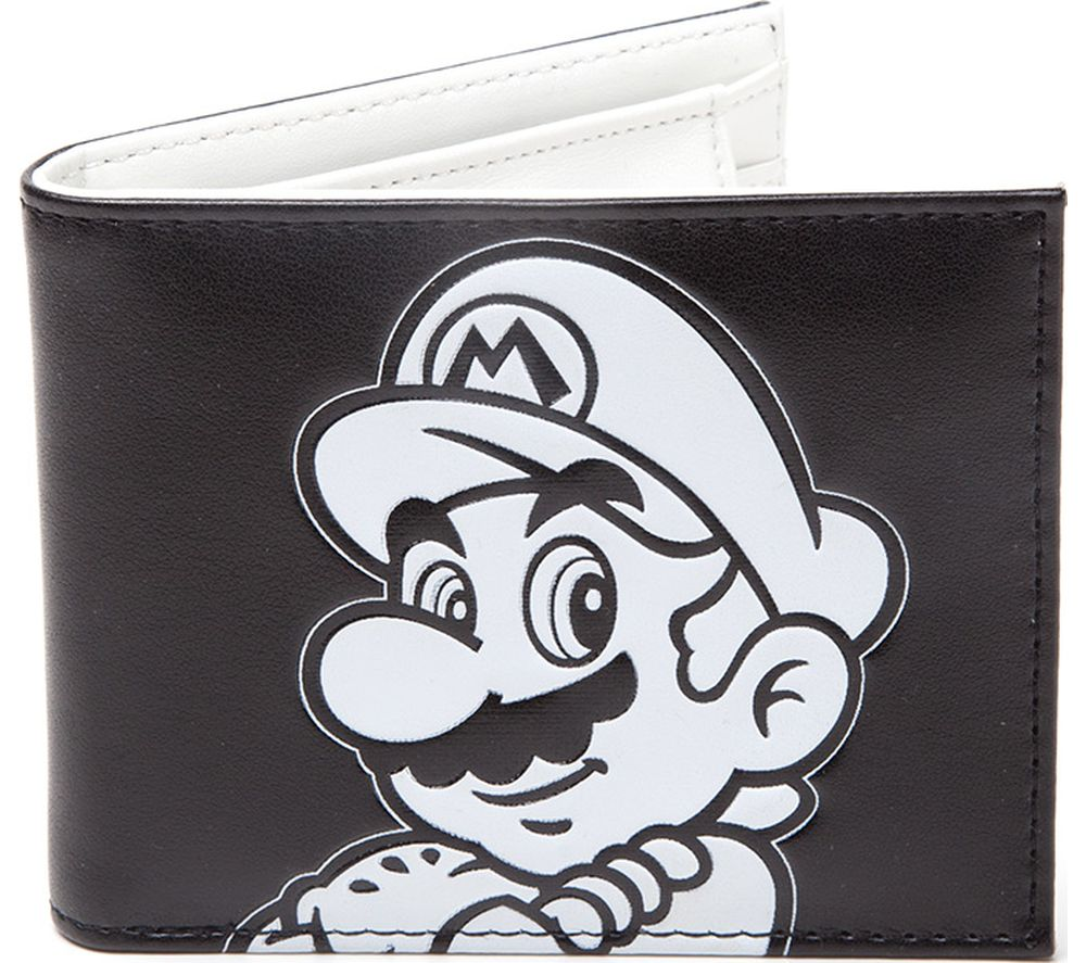 NINTENDO Super Mario Wallet - Black & White