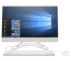 "HP 24-f0015na 23.8"" Intel® Core™ i3 All-in-One PC - 1 TB HDD, White"
