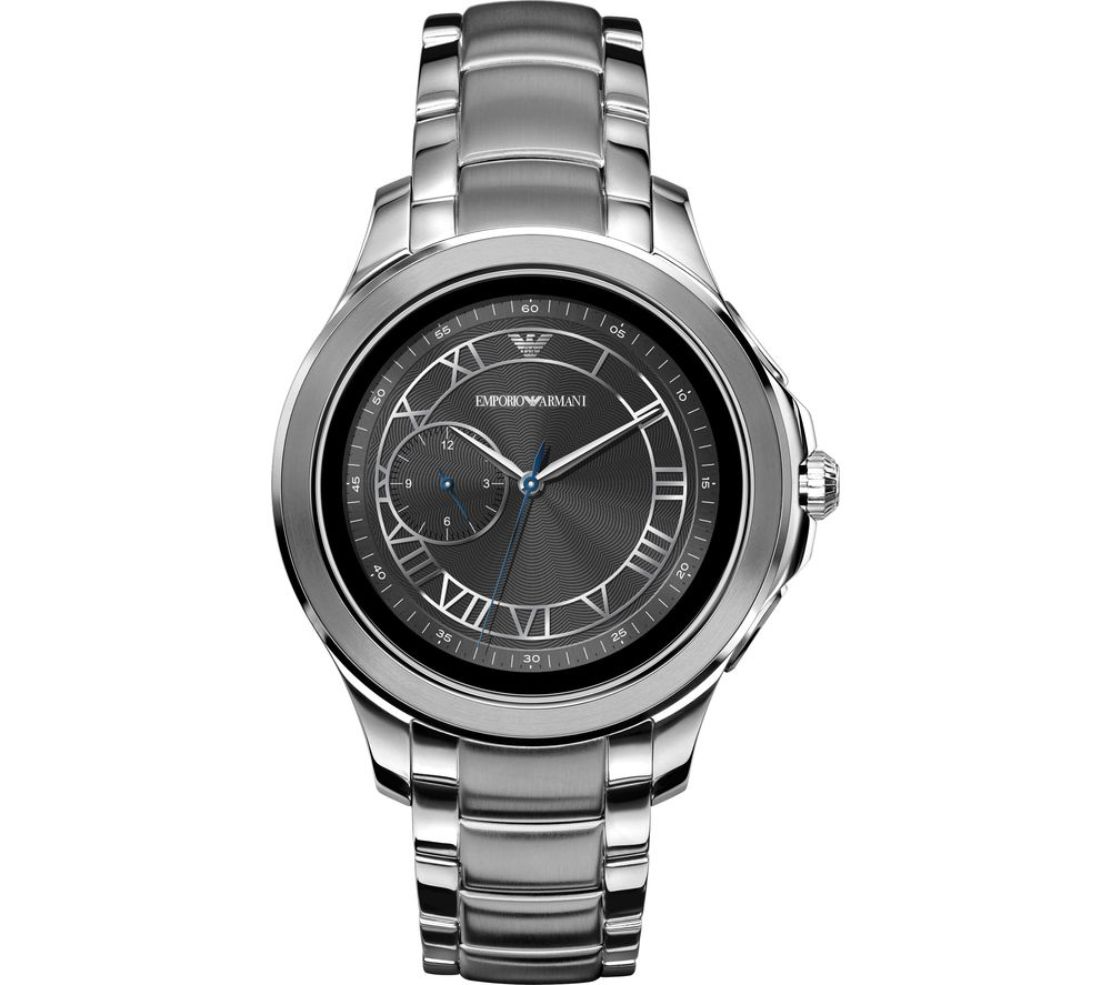6ebded336fe9 Buy EMPORIO ARMANI ART5010 Smartwatch - Silver