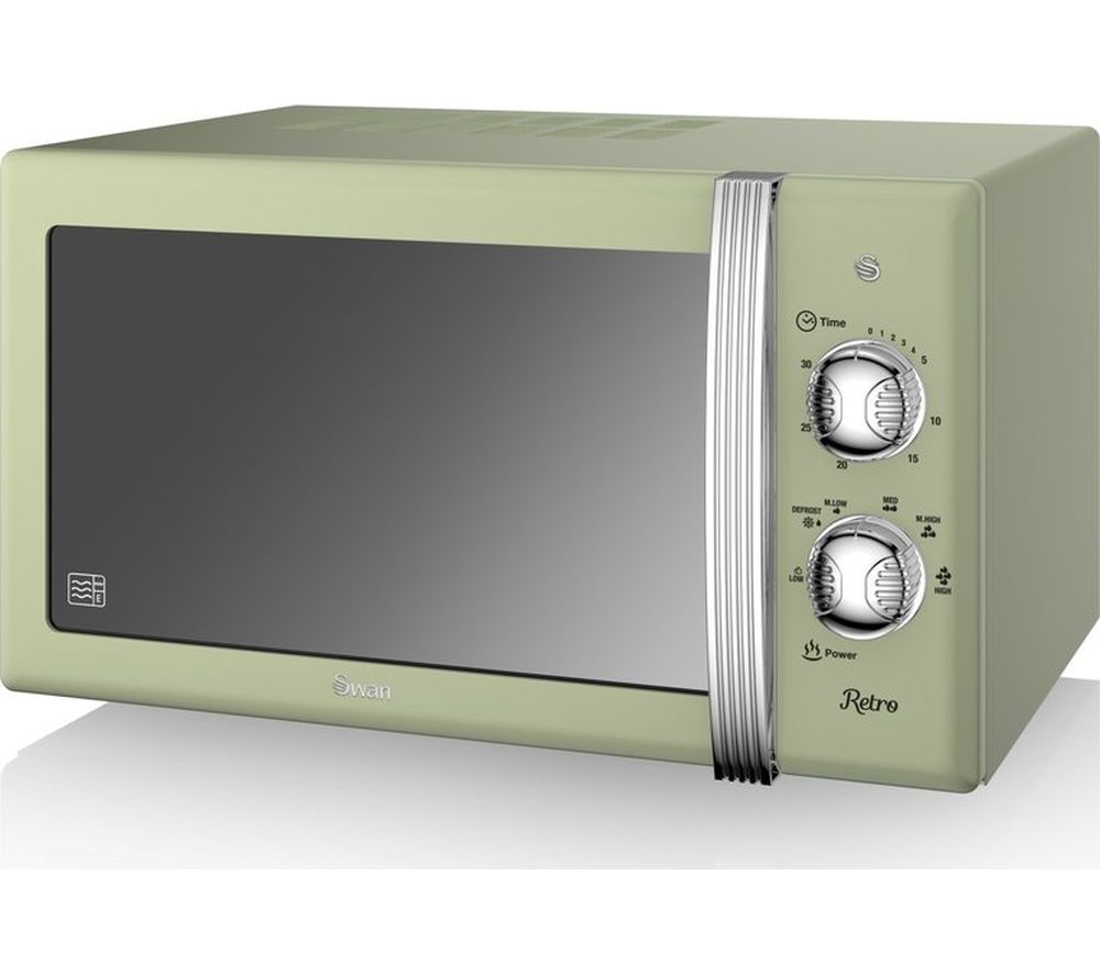SWAN SM22130GN Solo Microwave - Green